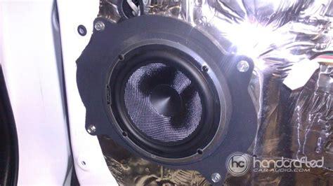 toyota tundra   front speakers  custom