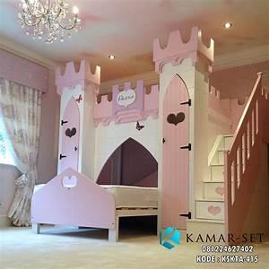 Tempat Tidur Kastil Anak Perempuan Alexa KAMAR SET