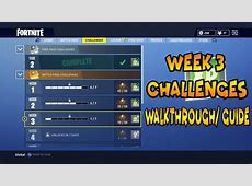 Fortnite Week 3 Challenges Tutorial Follow The Treasure