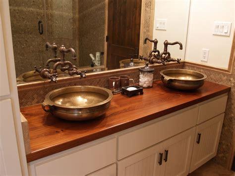 sink cutouts  custom wood countertops