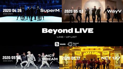 SM Entertainment Unveils Exciting Performance Roster For ...