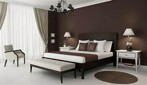Helle Möbel Welche Wandfarbe : braune wandfarbe f r eine gem tliches ambiente im zimmer ~ Bigdaddyawards.com Haus und Dekorationen