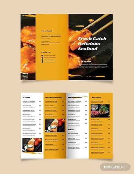 restaurant brochure templates  psd eps ai