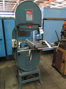 Enco 18 U201d Wood Cutting Vertical Band Saw