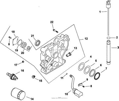 kohler ch  lincoln  hp  kw parts diagram