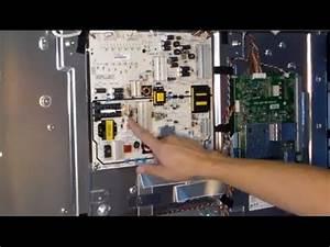 Easy How To Fix Led Vizio Tv- No Power