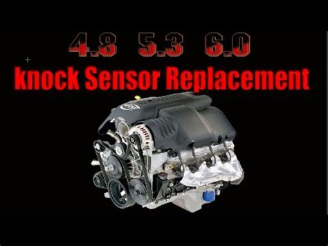 knock sensor replacement gm youtube