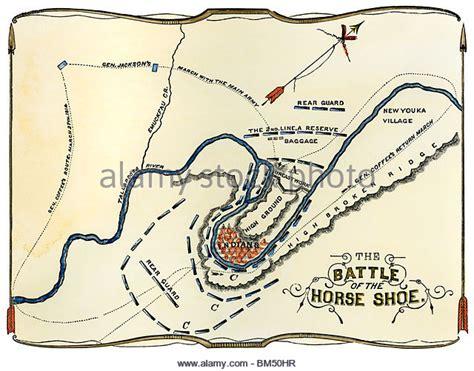 battle  horseshoe bend map pictures  pin  pinterest