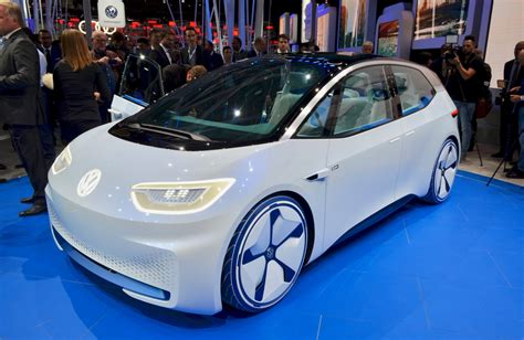 Volkswagen Id This Is Your Selfdriving Golf Of The Future