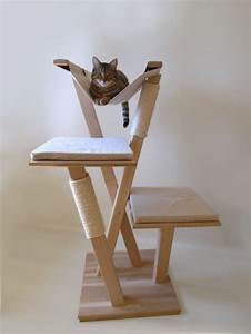 Arbre A Chat Moderne : 996 best images about cat climbers ramps on pinterest cat shelves cat towers and for cats ~ Melissatoandfro.com Idées de Décoration