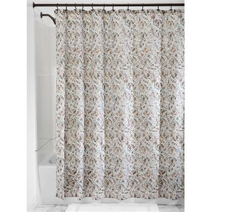 butterfly fabric shower curtain taupe essentials