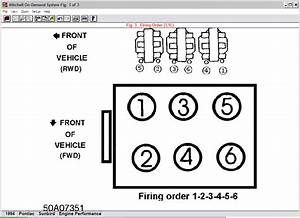 What Is The Firing Order On A 94 Pontiac Sunbird 3 1  6