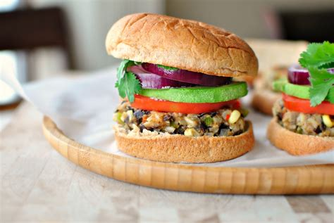 veggie burgers simply scratch southwest black bean and rice veggie burger simply scratch