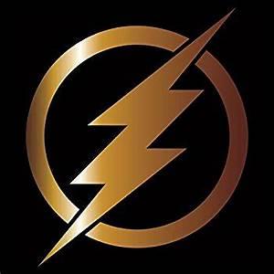 Amazon.com: The Flash Vinyl Decal / Sticker - Gold 4 ...