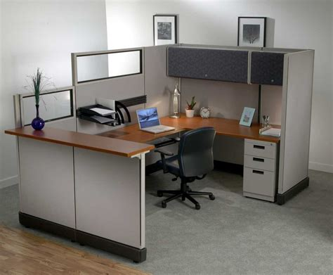 bureau decoration office furniture cubicle decorating ideas