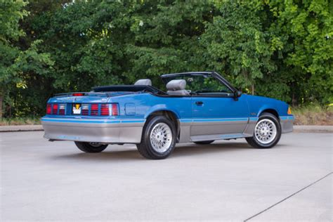 how it works cars 1989 ford mustang electronic toll collection 1989 ford mustang gt 8707 miles regatta blue convertible 302 v8 5 speed manual for sale ford