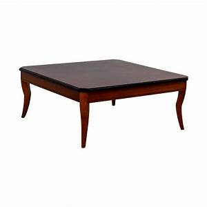 87 off cherry wood square coffee table tables With square coffee tables for sale