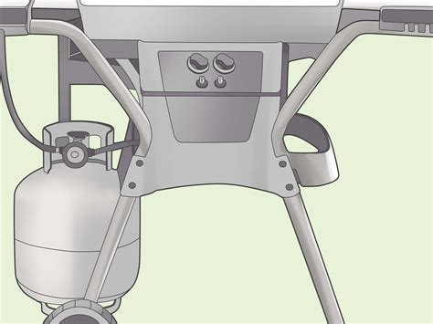 how to hook up a small propane tank to a grill 6 steps