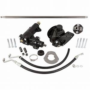 1965 Ford Mustang Kits and Performance Parts Power Steering Conversion - Vehicles with Factory ...