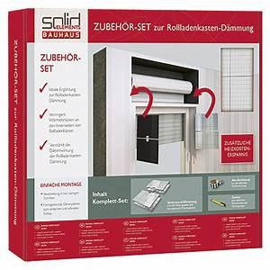 Rollladenkasten Dämmung Bauhaus : solid elements zubeh r set zur rollladenkasten d mmung 3 ~ Lizthompson.info Haus und Dekorationen