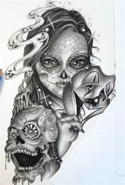 Chicano Lowrider Arte Dead Tattoos Wallpapers Tattoo