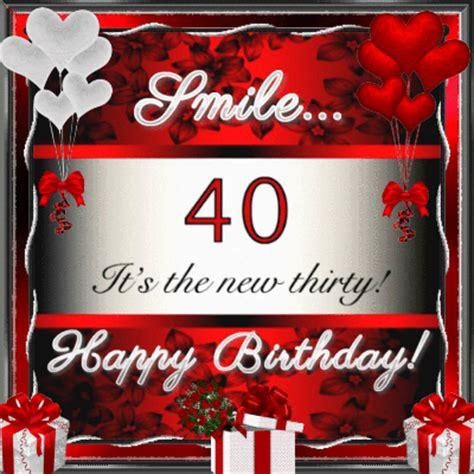 forty      milestones ecards greeting
