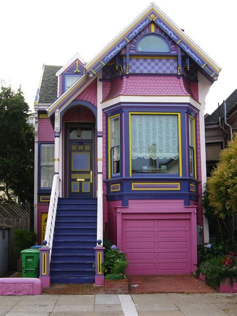 House Paint Jobs That Would Only Fly In Sf