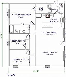 40 x50 house plans With 30x40 metal building floor plans