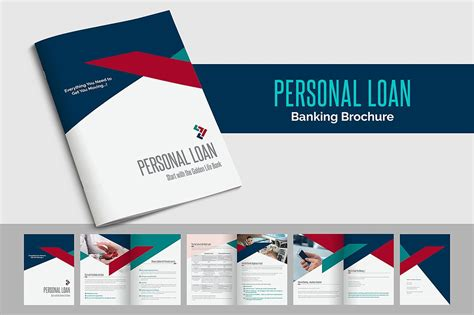 Personal Brochure Templates by Personal Loan Banking Brochure Brochure Templates