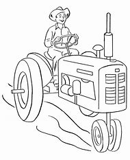 Best Tractor Coloring Pages - ideas and images on Bing | Find what ...