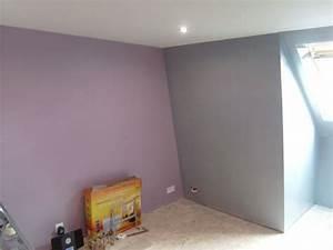 Peinture Pour Chambre Adulte : peinture pour une chambre coucher indogatecom idee ~ Dailycaller-alerts.com Idées de Décoration
