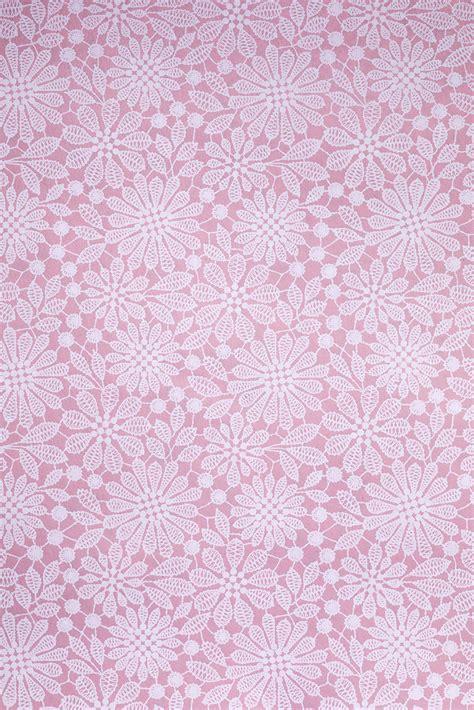 Pink Lace Print Wrap - Globe Enterprise