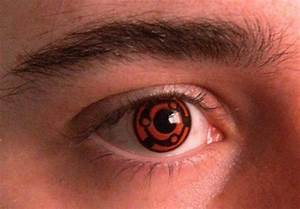 red n black eye contact #naruto | contacts/pretty eyes ...