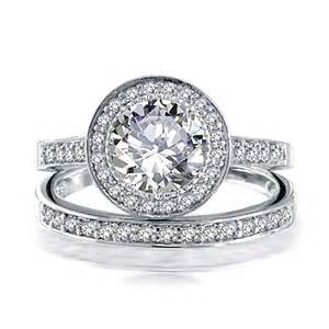 sterling silver wedding ring 925 sterling silver 2ct cz engagement wedding band ring set