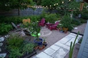 Gravel Patio with Fire Pit Ideas