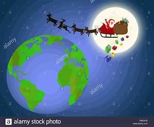 Fliegen In Der Erde : santa sleigh fly stockfotos santa sleigh fly bilder alamy ~ Lizthompson.info Haus und Dekorationen