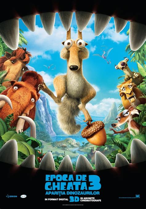 ice age dawn   dinosaurs  poster