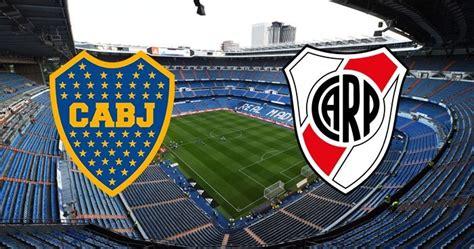 La final River Plate vs Boca Juniors se jugará en el ...