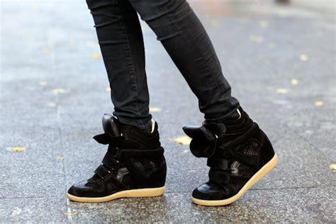 boots wanita 02 marant sneaker wedges marant shoe trends