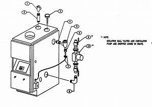 Boiler Controls  Piping Diagram  U0026 Parts List For Model