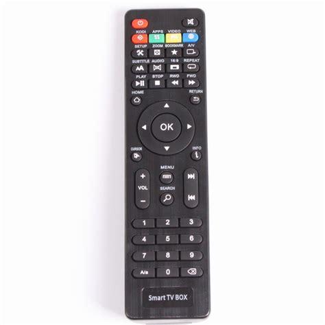 remote control ott mxq   mxq pro iptv box receiver smart tv box  remote controls