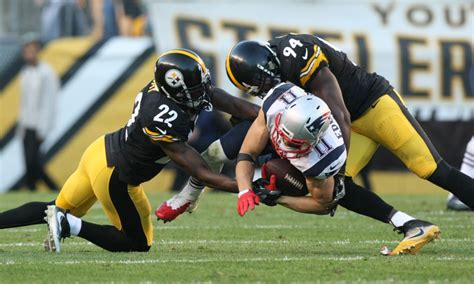 steelers  patriots playoff information time tv
