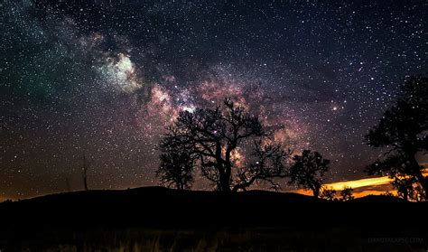 Photographer Captures Stunning Images Of Night Sky From