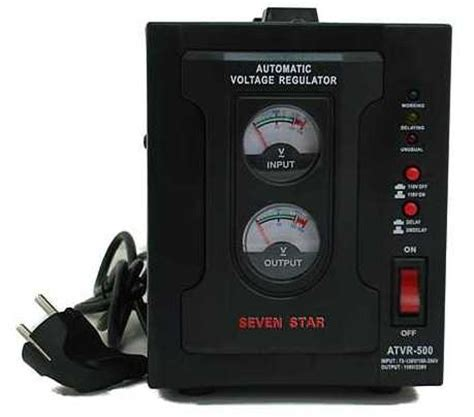 seven 3 000 watt deluxe automatic voltage regulator seven 1 000 watt deluxe automatic voltage regulator converter transformer 110220volts