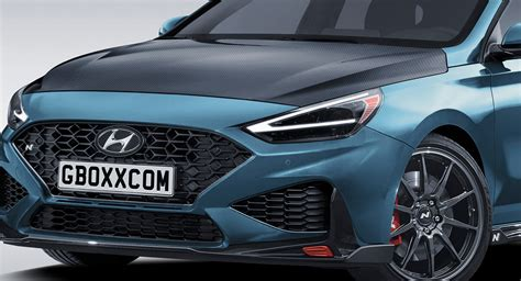 Subtle updates make the hyundai i30 n hot hatch even better suited to uk roads. Facelifted Hyundai i30 N Should Look A Lot Like This ...