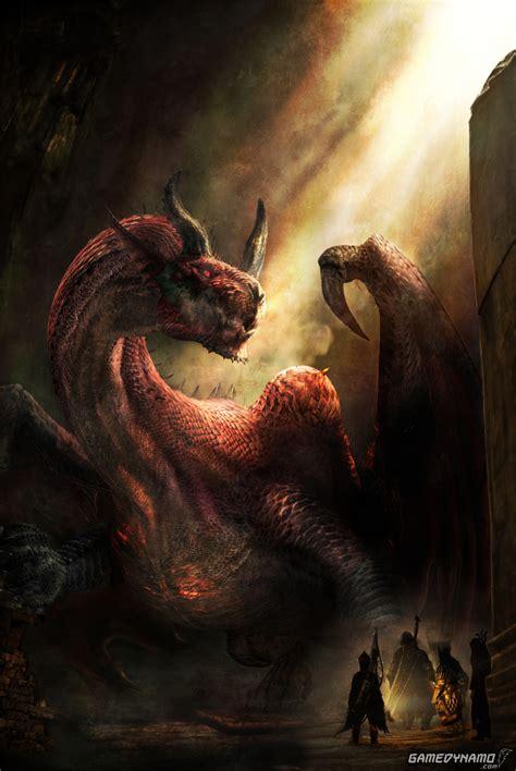 Savan Dragons Dogma Image News Capcom Announces Major Title Update And Free