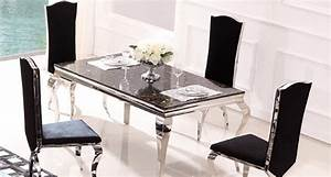mobilier baroque design idees decoration interieure With salle a manger 6 places