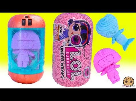 jelly layer lol surprise  wraps eye spy series