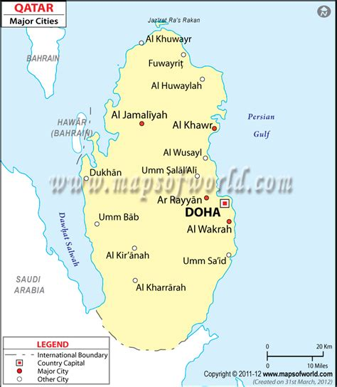 qatar cities map asia map map asia map city