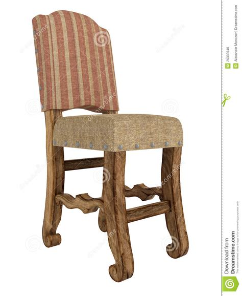 antique wooden chair royalty free stock image image
